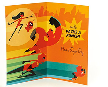 Disney The Incredibles Nephew Birthday Card