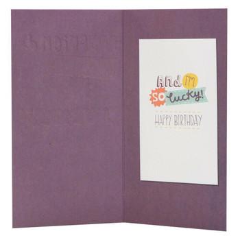 Hallmark Birthday Card For Boyfriend 'You're So Yummy' Medium Slim