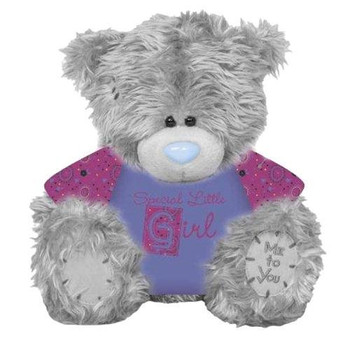"7"" Special Little Girl T-Shirt Me to You Bear"