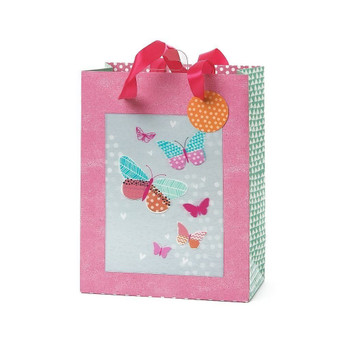 3D Medium Butterflies Design Gift Bag Any Occasion