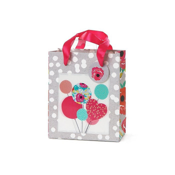 3D Small Floral Design Gift Bag Any Occasion Gifts Wrap