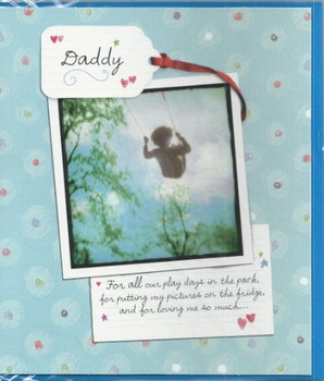 For The Best Daddy Happy Father's Day card