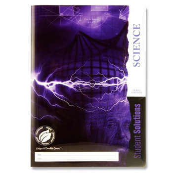 A4 120 Pages Durable Cover Science Book by Student Solutions