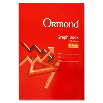 A4 40 Pages Graph Book by Ormond