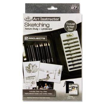 Art Instructor 37 Piece Travel Set - Sketching