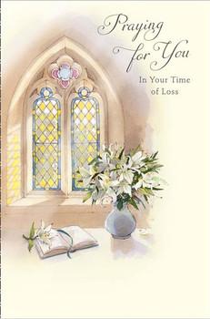 6 x Prayer Religious Sympathy Card Bereavement Condolences Cards