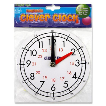 15cm Magnetic Clever Clock by Clever Kidz