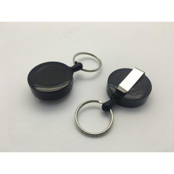Black Round Key Reel