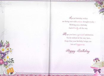 Birthday Wishes To A Special Auntie Keepsake Treasures Greeting Card