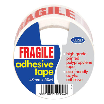 County Adhesive Tape Printed Fragile C420