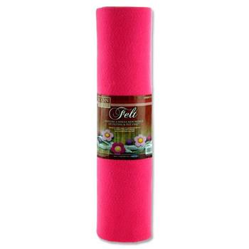 45cm X 5m Pink Felt Roll by Icon Craft