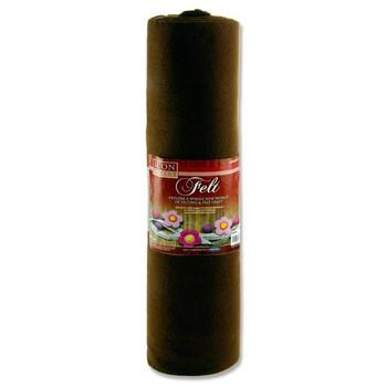 45cm X 5m Brown Felt Roll by Icon Craft