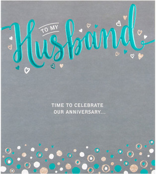 """All My Love"" Husband Anniversary Card Hallmark"
