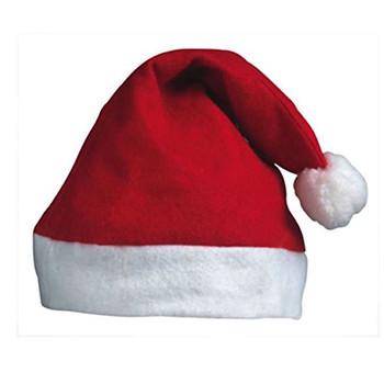 50 x Festive Christmas Felt Santa Hats