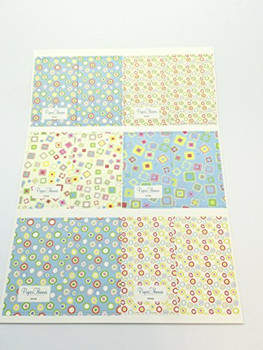 10 Sheets of Luxury Shapes Design Gift Wrap and Tags - New Born Baby, Birthday, Christening, Christmas etc