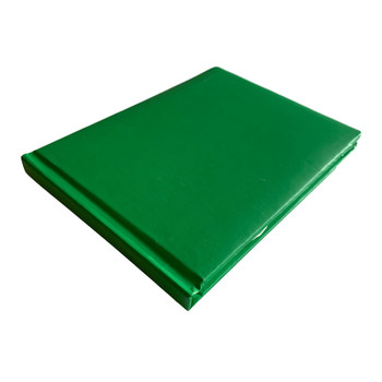 12 x Plain Cover Green Autograph Books by Janrax - Signature End of Term School Leavers