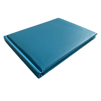 12 x Plain Cover Blue Autograph Books by Janrax - Signature End of Term School Leavers
