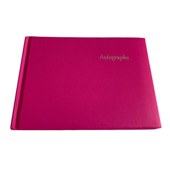12 x Pink Autograph Books by Janrax - Signature End of Term School Leavers