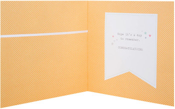A Special Christening Wish With Love Open Greeting Card
