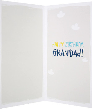 Cute Textured Design Grandad Birthday Card