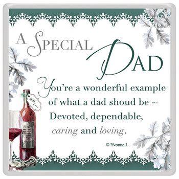 A Special Dad Celebrity Style World's Best Magnet