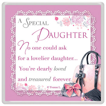 A Special Daughter Celebrity Style World's Best Magnet