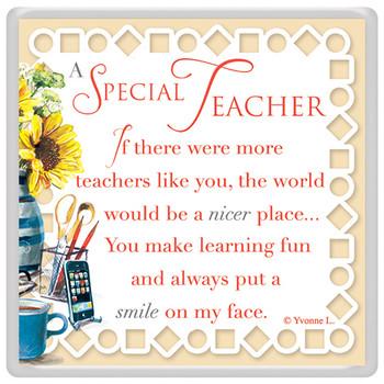 A Special Teacher Celebrity Style World's Best Magnet