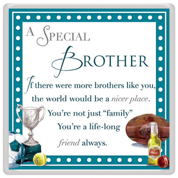 A Special Brother Celebrity Style World's Best Magnet