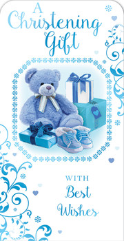 A Christening Gift for Baby Boy Luxury Gift Money Wallet Card