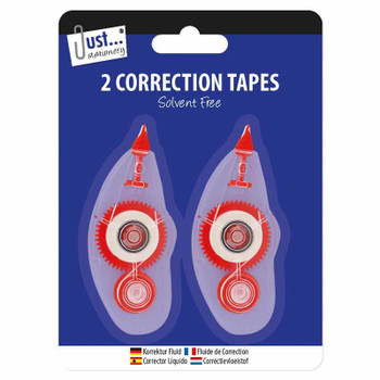 Pack of 2 Correction Tapes