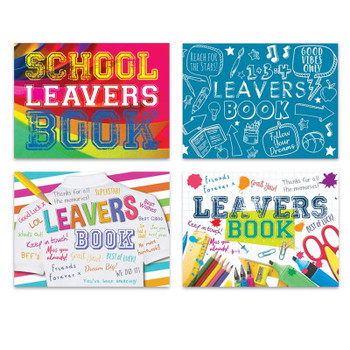 100 Pages School Leavers Autograph 1Book