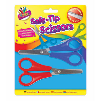 Pack of 2 Safety Scissors
