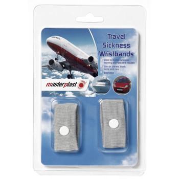 Pack of 2 Masterplast Travel Sickness Wristband