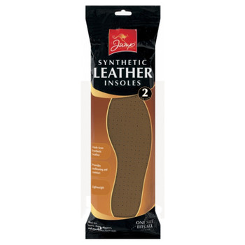2 Pack Synthetic Leather Insoles