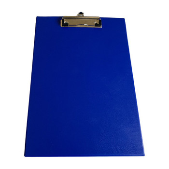 Pack of 12 Janrax A4 Blue PVC Single Clipboards