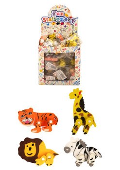 Jungle Animal Shape Eraser