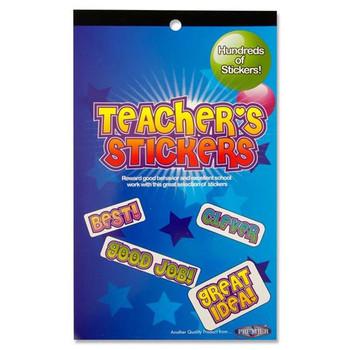 Book of 700+ Teachers Reward Stickers by Clever Kidz