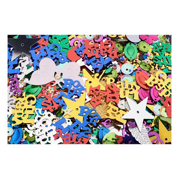 Bag of 100g Assorted Sequins by Crafty Bitz