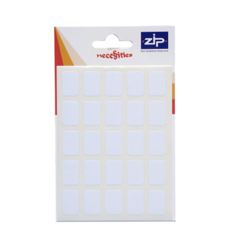 Pack of 120 12 x 18mm White Labels