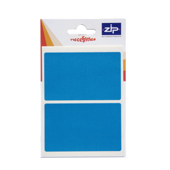 Pack of 12 50 x 80mm Blue Labels