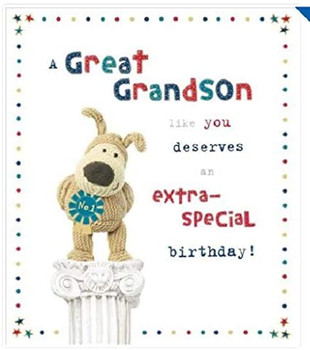 A Great Grandson Like You Deserves An Extra Special Birthday Card