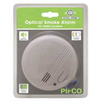 Certified Optical Smoke Alarm by Pifco