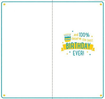 16th Today Relatable facts Birthday Card