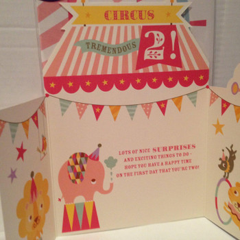 2nd Birthday Card 'Tremendous 2!'