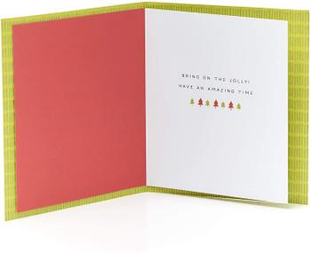 For A Son Funny Kraft Design Christmas Card