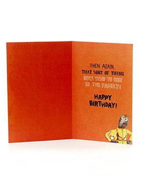 The Muppets Uncle Birthday Card