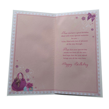 Cousin Female Birthday Soft Whispers Card