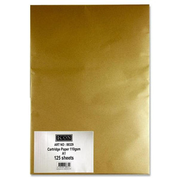 A1 125 Sheet Cartridge Paper 110Gsm by Icon