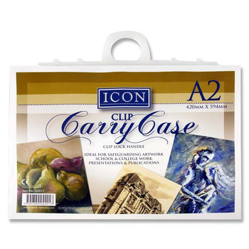 A2 Carry Case With Handle by Icon Art