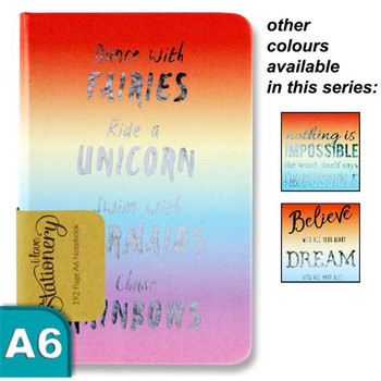 A6 192 pages Rainbow Design Journal by I Love Stationery